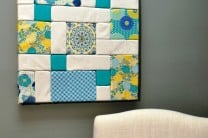 Colorful Patchwork Wall Art