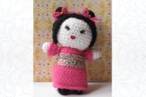 Amigurumi Japanese Maiden