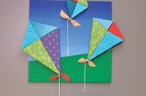 Triangle Wall Kites