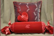 Embossed Velvet Pillows