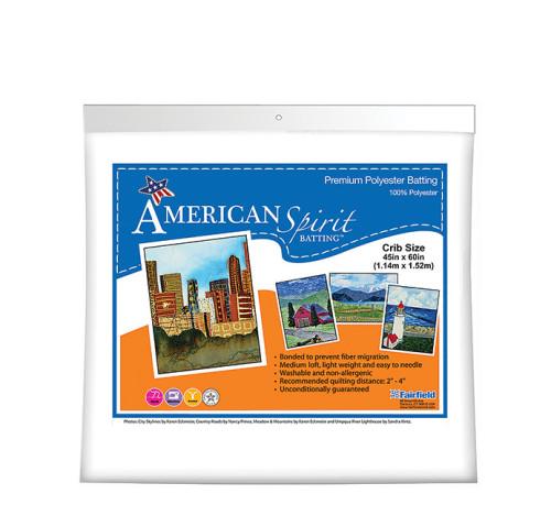 American Spirit Batting™ Premium Polyester 45″ x 60″