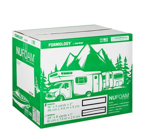 NuFoam™ Pad 18″ x 5 Yards x 2″ thick