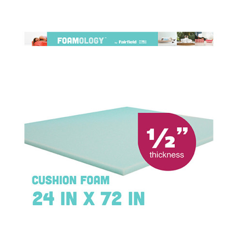 "Soft Support Foam 72″ x 24″ x ½"" thick"