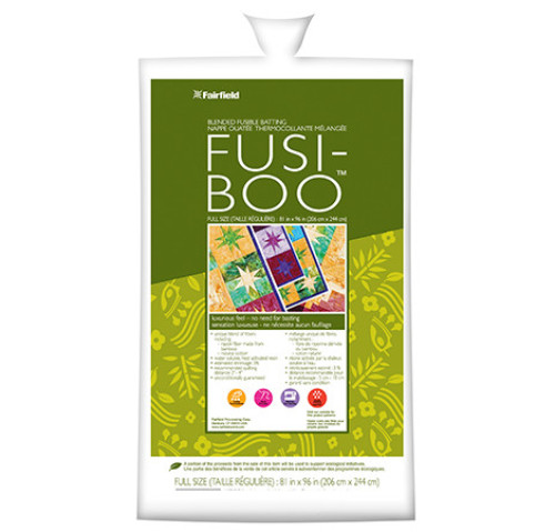 Fusi-Boo™ Fusible Batting 81″ x 96″