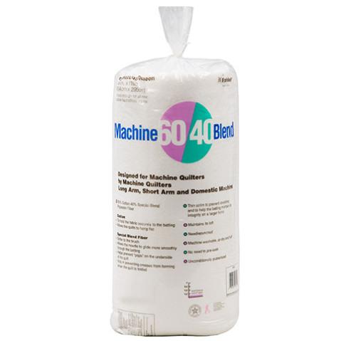 Machine 60/40® Blend Batting 124″ x 124″