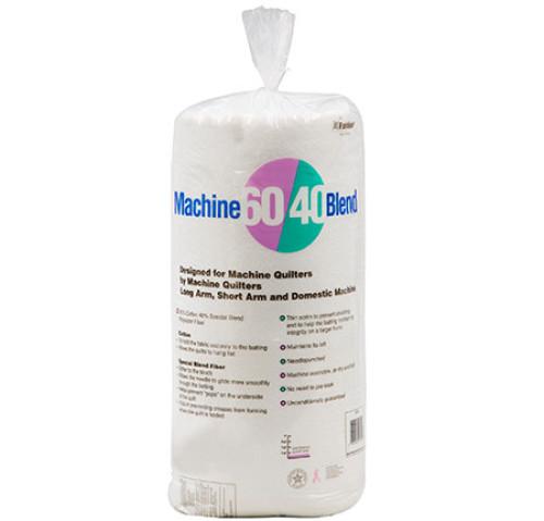 Machine 60/40® Blend Batting 60″ x 60″