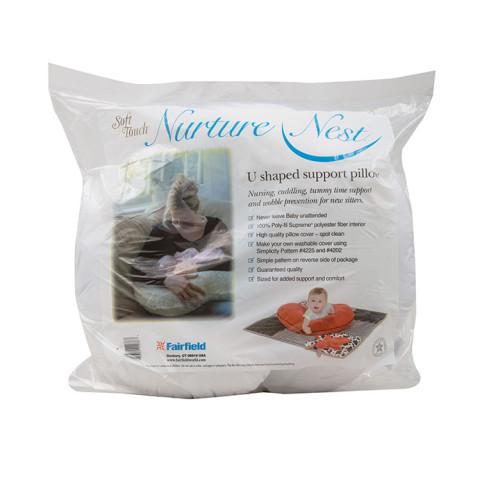 Nurture Nest® Soft Touch® U-Shaped Support Pillow