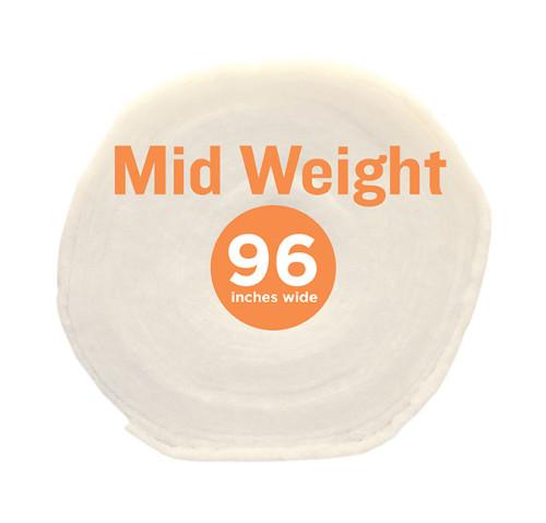 Poly-Fil® Mid-Weight Batting 96″ wide x 15 yard Roll