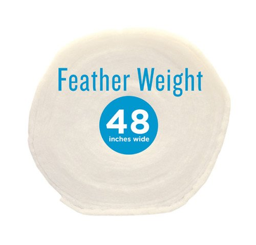 Poly-Fil® Feather-Weight Batting 48″ wide x 60 yard Roll