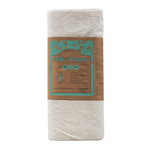 Soft & Toasty™ Cotton Batting 45″ wide x 5 yard Roll