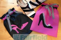 Make Shoe Bags with  oly*fun