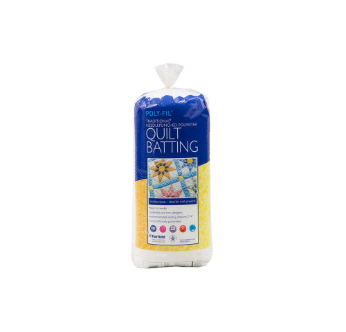 Poly-Fil Traditional® Fleece Batting 36″ x 45″