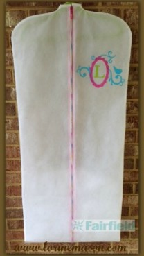Designer Garment Bag with oly-fun™