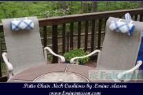 Patio Chair Neck Cushions