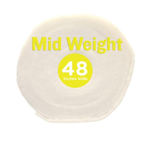Poly-Fil® Mid-Weight Batting 48″ wide x 30 yard Roll