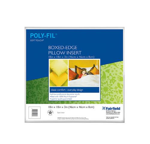 Soft Touch® Pillow – Box Edge 18″ x 18″ x 3″