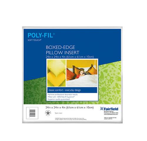 Soft Touch® Pillow – Box Edge 24″ x 24″ x 4″