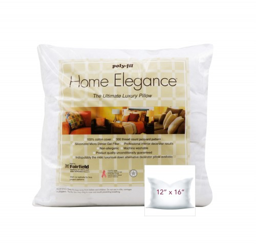 Home Elegance® Pillow 12″ x 16″