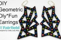 DIY Geometric Oly*Fun Earrings