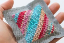 Oly-Fun™ Cross Stitch Sachet