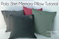 Polo Shirt Memory Pillow
