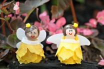 Make Fairy Peg Dolls with Oly*Fun Fabric