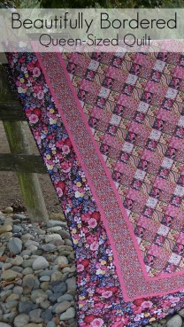 Beautifully Bordered Quilt Pattern