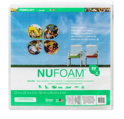 NuFoam™ Pad – 22″ x 22″ x 2″ thick