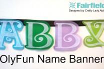 OlyFun Name Banner