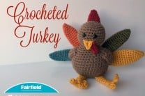 Crocheted Turkey