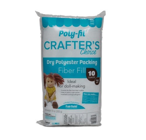 Poly-Fil® Crafter's Choice® Dry Packing Fiber Fill 10 ounce Bag