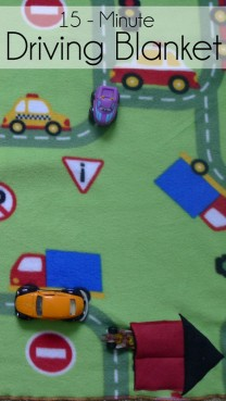 15-Minute Driving Blanket with Car Pocket