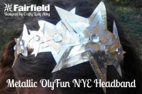 Metallic OlyFun New Year's Eve Headband