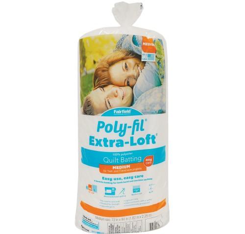 Poly-Fil Extra-Loft® Batting 72″ x 90″
