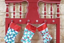 Christmas Stockings Made in Minutes