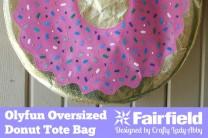 Olyfun Oversized Donut Tote Bag