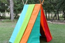 Colorful Play Tent