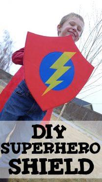 DIY Superhero Shield with Oly-Fun