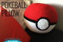 Pokeball Pillow