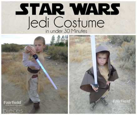 Easy Jedi Costume with Oly-Fun™