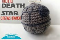 Crocheted Death Star Ornament
