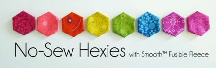 Easy No-Sew Hexies