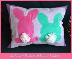 olyfun™ Backward Bunny Pillow
