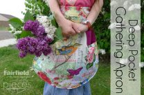 Deep Pockets Gathering Apron