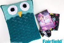 Crocheted Owl Pillow