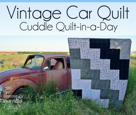Vintage Car Cuddle Quilt-in-a-Day