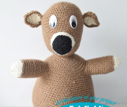 No-Sew Huggable Crochet Pal
