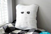 Not-so-spooky Mummy Pillow