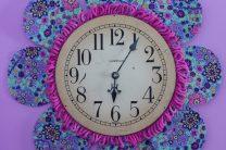 DIY Flower Petal Clock
