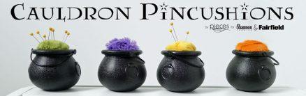 Cauldron Pincushions